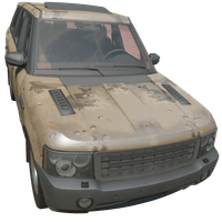 SUV Desert Skin