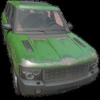 SUV Green Skin