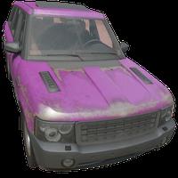 SUV Pink Skin