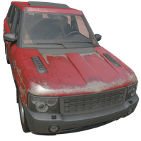 SUV Red Skin
