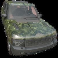 SUV Woodland Skin