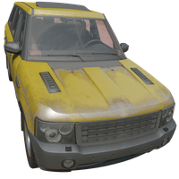 SUV Yellow Skin