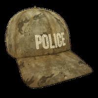 Tan Desert Police Flex Cap