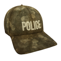 Tan Hex Police Flex Cap