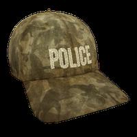 Tan Hunters Police Flex Cap