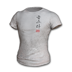 2018 PUBG ALL-STAR T-shirt (Korean)