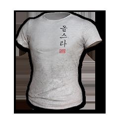 2018 PUBG ALL-STAR T-shirt (Korean)