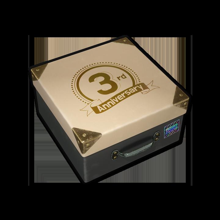 3RD ANNIVERSARY BOX