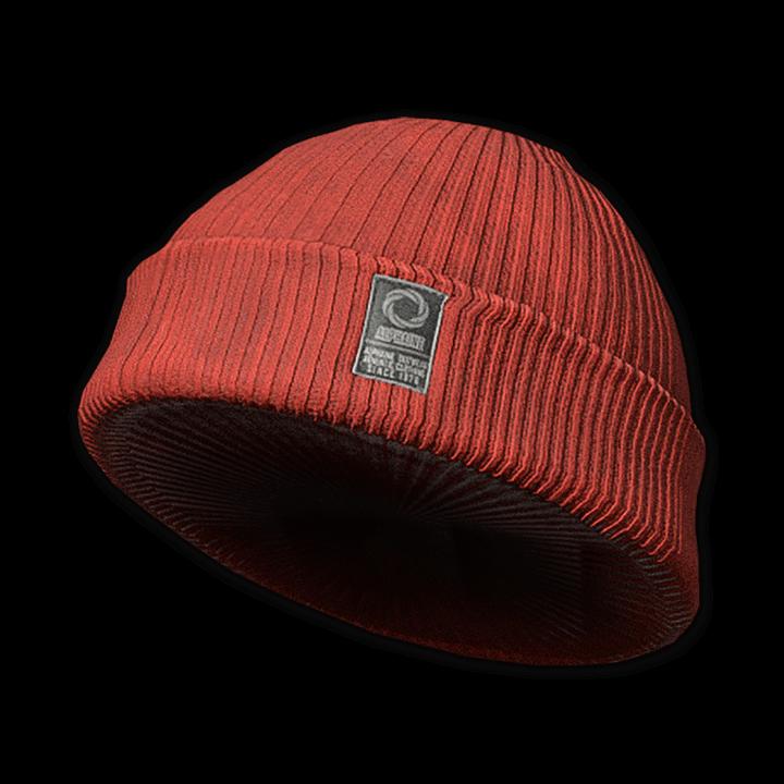 Alphaine Outwear Beanie (Red)