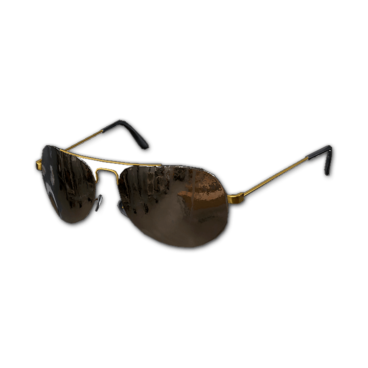 Aviator Sunglasses (Brass)