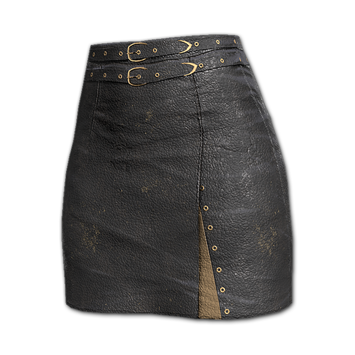 Badlands Royalty Double Belted Pencil Skirt