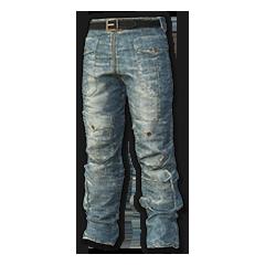 Biker Pants (Blue)