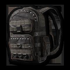 Black Riveted Backpack (Level 3)