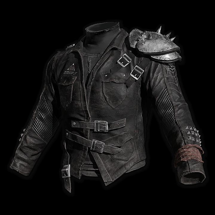 Black Spider Leather Jacket