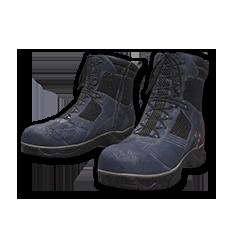 Blue Biker Boots