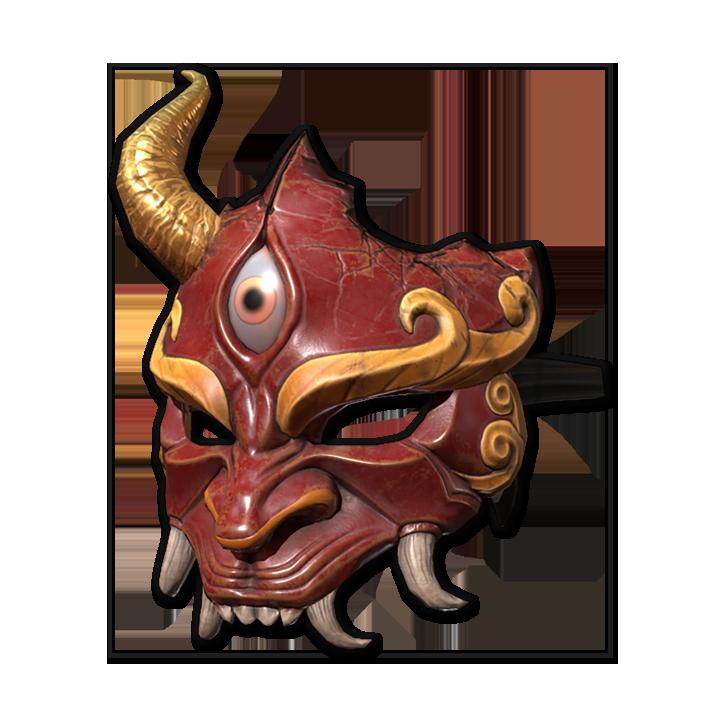 Broken Ogre Mask