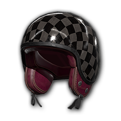 Checkered Motorcycle - Helmet (Level 1)