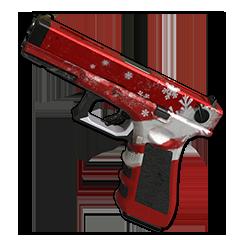 Crimson Snowflake - P18C
