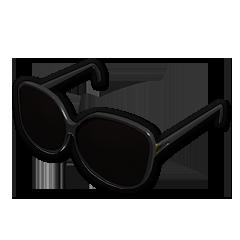 Diva Glasses (Black)