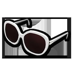Diva Glasses (White)