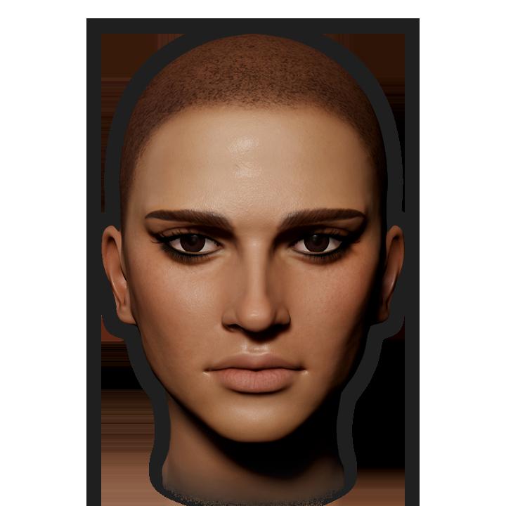 Female Face 11