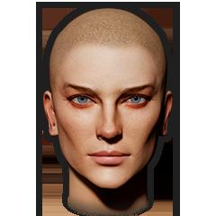 Female Face 9