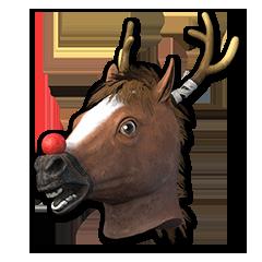Festive Horse Mask