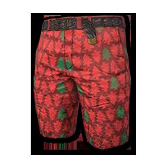 Festive Shorts (Red)