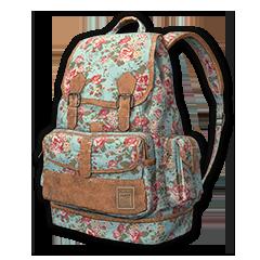 Floral Print Backpack (Level 2)