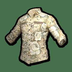 Floral Shirt (White)