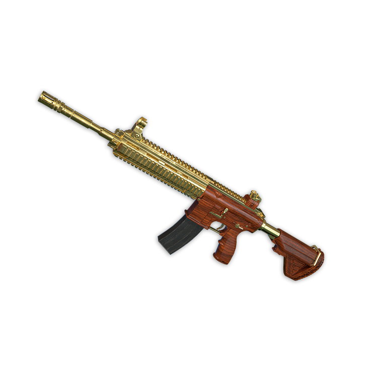 Gold Plate - M416