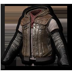 Leather Cavalier Vest
