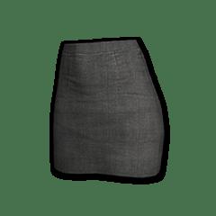 Military Skirt (Black)