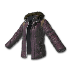 Padded Jacket (Purple)