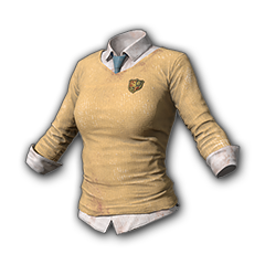 Private School Sweater (Yellow)