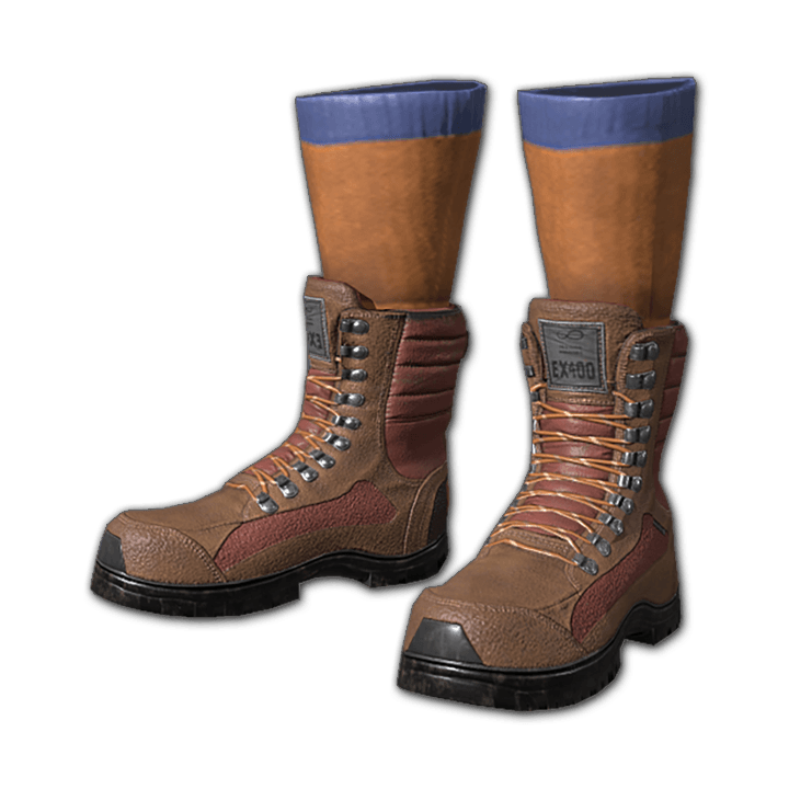 Reinforced Boots with Old Man Socks