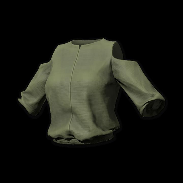 Safina Open Shoulder Blouse