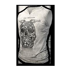 Sleeveless Skull top
