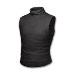 Sleeveless Turtleneck (Black)