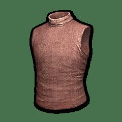 Sleeveless Turtleneck (Red)