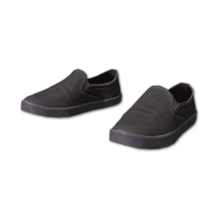 Slip-on Canvas Sneakers (Black)