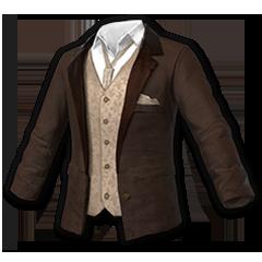 Suit Top (Brown)