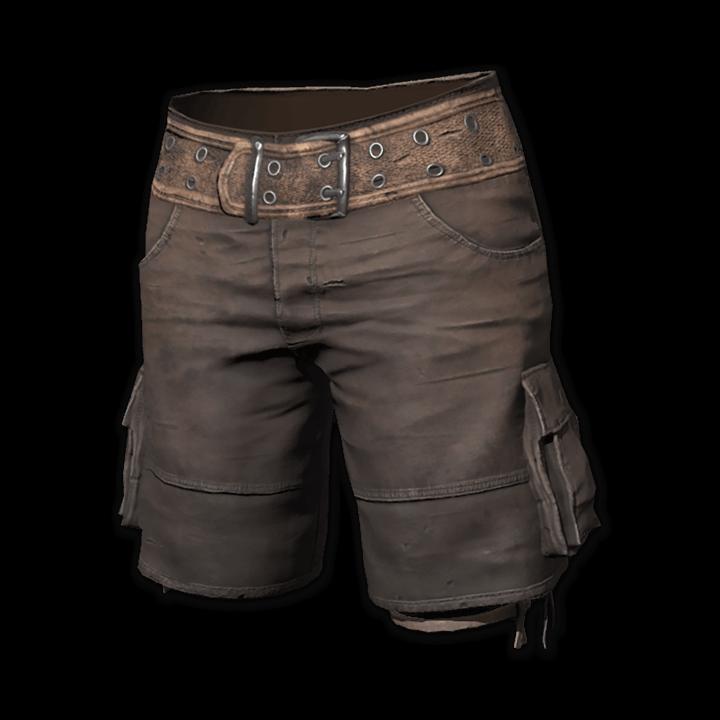 Tattered Explorer Shorts