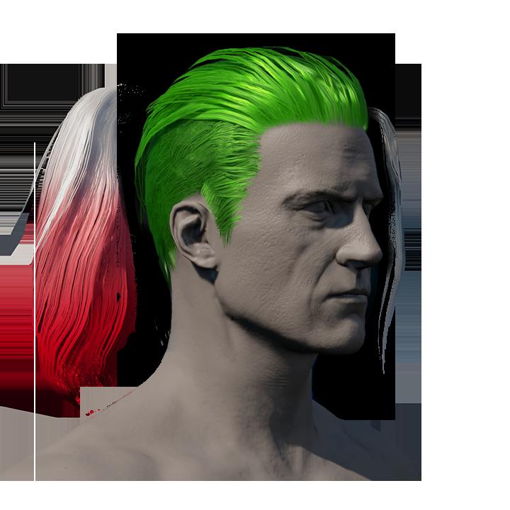 The Joker's Hair