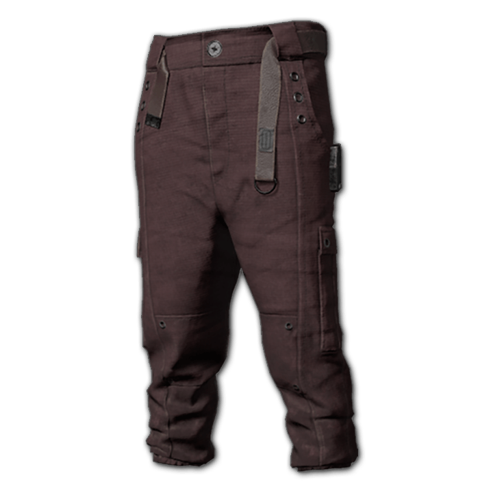 Vented Operator Pants (Raspberry)