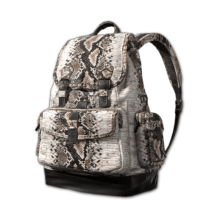 White Snake Backpack (Level 2)
