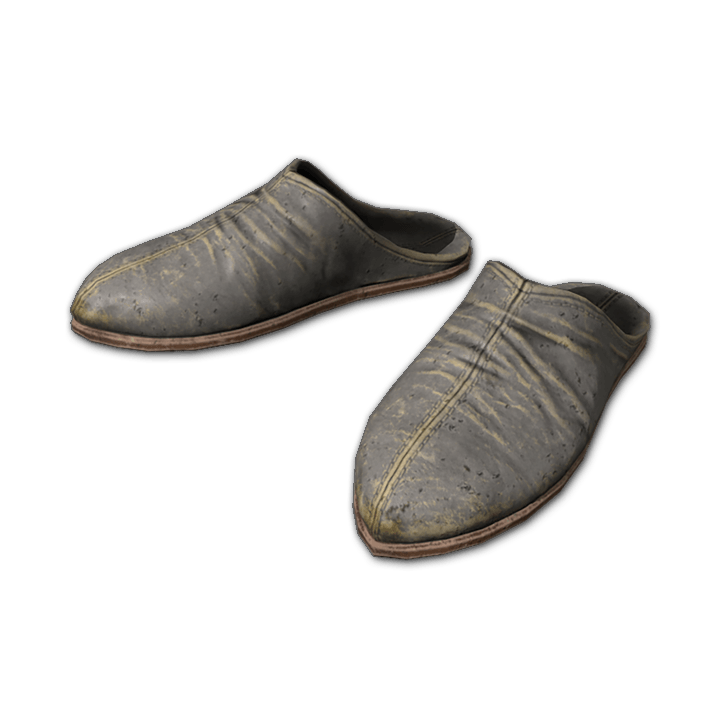 Worn Slippers