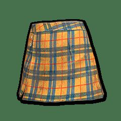 Zest Checkered Skirt