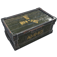 Ammo Wooden Box