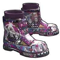 Apocalyptic Knight Boots